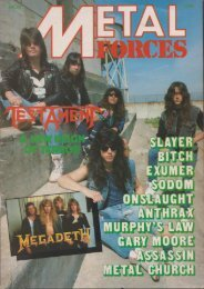 Metal Forces #23-1987