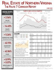 2020-06 -- Real Estate of Northern Virginia - The Route 7 Corridor Report - June 2020 - Real Estate Market Trends - Michele Hudnall