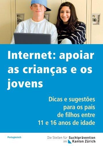 Internet: apoiar as crianças e os jovens