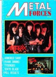 Metal Forces #10-1985