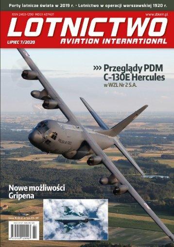 E-Lotnictwo Aviation International 7/2020