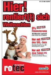Weihnachten Hier rentier(t) - Rotec Online