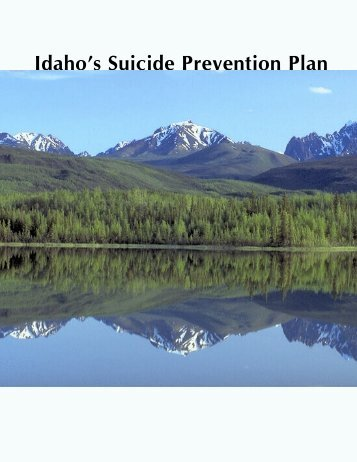 Idaho's Suicide Prevention Plan - Health and Welfare