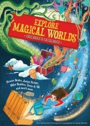 Explore Magical Worlds Children's Catalogue 2020