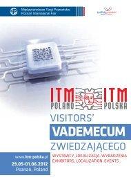 VADEMECUM - ITM Polska - Międzynarodowe Targi Poznańskie
