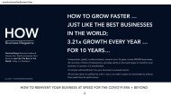 How to Grow Your Business Faster Just Like The Best Businesses In The World; 3.21x faster every year