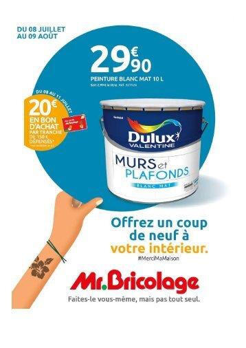 Mr Bricolage 8 Juillet-9 Aout 2020
