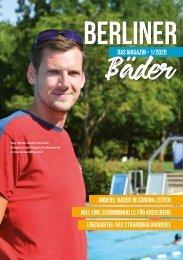 Berliner Bäder - Das Magazin / Ausgabe 01 / 2020