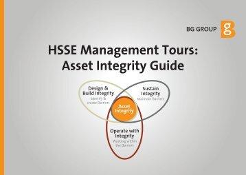 HSSE Management Tours - BG Group