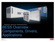 BESS Overview - Components, Drivers, Applications - Electrical and ...