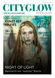 CityGlow Hannover Magazin 07-2020