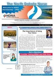 North Dakota Nurse - July 2020