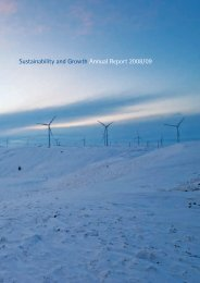 Sustainability and Growth Annual Report 2008/09 - REpower ...