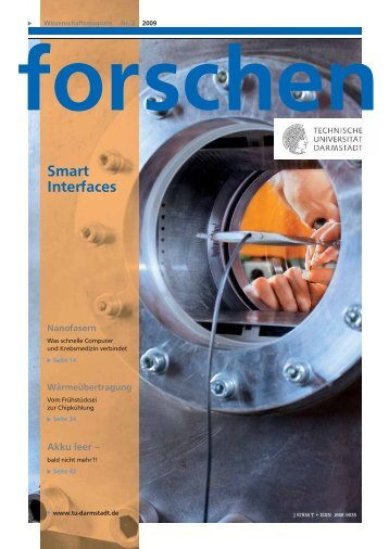 forschen 2/2009 - CSI - Technische Universität Darmstadt