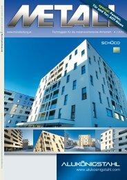 und Ausstellungszentrums vom 18. bis 20. April 2012 - Metall