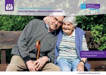 Ambulant betreute Senioren-Wohngruppen