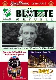 Die Adresse Ihrer Gwste - VfB Speldorf