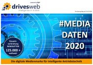 Mediadaten drivesweb - intelligence in motion.