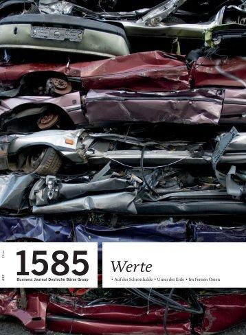 1585 - Deutsche Börse AG