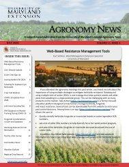 Agronomy News 2020