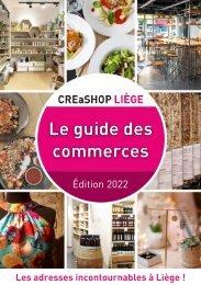 Creashop Liège - Le guide des commerces, édition 2020