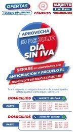 Cómputo Día Sin IVA - 14/07/2020