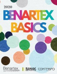 2020 Benartex Basics (July Edition)