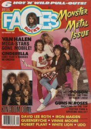Faces Rocks-1988 sep