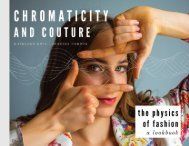 Chromaticity and Couture: The Physics of Fashion