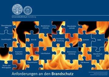 Brandschutzhandbuch - Heidelberg