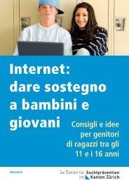 Internet: dare sostegno a bambini e giovani