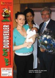 Leandro Meiser ist das erste Baby im neuen Jahr - artntec