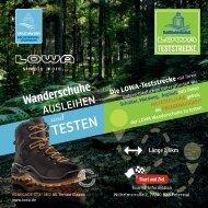 LOWA Teststrecke in Bad Peterstal-Griesbach