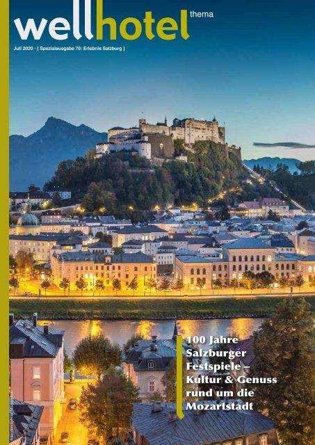 wellhotel Sonderheft Erlebnis Salzburg 2020