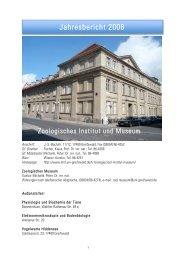 Jahresbericht 2008 - Mathematisch-Naturwissenschaftliche Fakultät ...