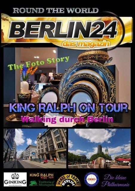Walking King durch Berlin
