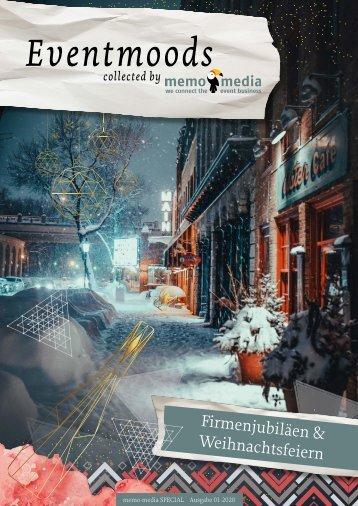 Eventmoods 2020-01 - Firmenjubiläen & Weihnachtsfeiern
