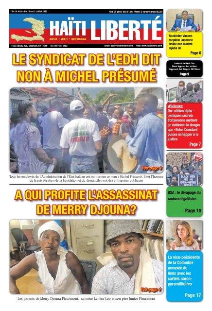 Haiti Liberte 15 Juillet 2020