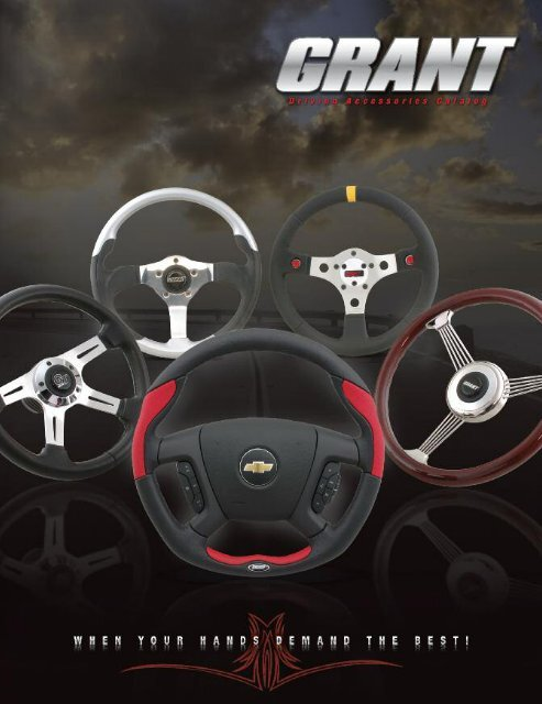 Grant Products 760 GT Rally Wheel