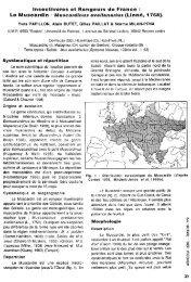 insectivores et Rongeurs' de France : - Ecobio