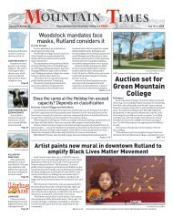 Mountain Times - Volume 49, Number 29 - July 15-21, 2020