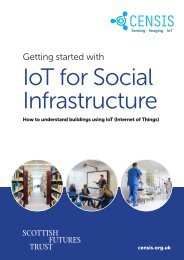 Getting started with IoT for Social Infrastructure