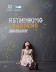 Rethinking Learning - A Review of Social and Emotional Learning For Education Systems