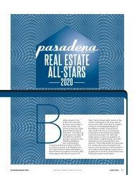 Pasadena Real Estate All-Stars 2020