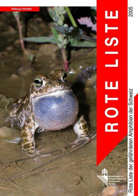 Rote Listen der Amphibien 2005.pdf - Karch