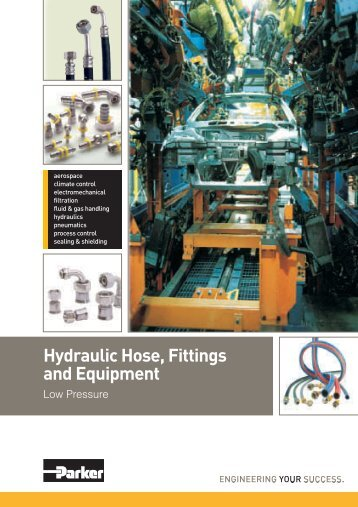 Low pressure hydraulic hose, fittings and equipment.pdf - Rotec