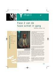 Y-mail 1 - juli 2000