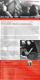 Das lange Jahr 1968 - Rosa-Luxemburg-Stiftung