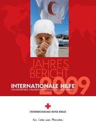 Jahresbericht Internationale Hilfe 2009 - Österreichisches Rotes Kreuz