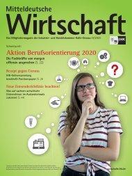 Mitteldeutsche Wirtschaft Ausgabe 07/08 2020